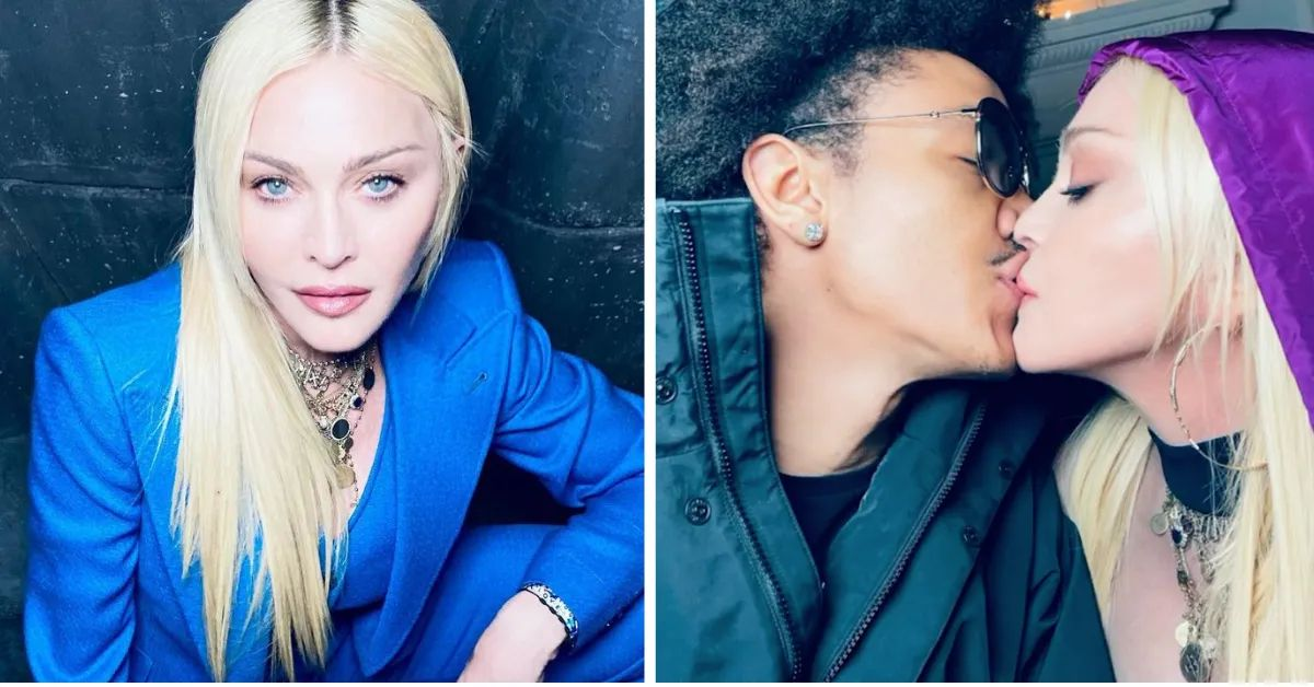 madonna celebrates her boyfriend's 27th birthday with series of steamy pics: 'let's get unconscious'