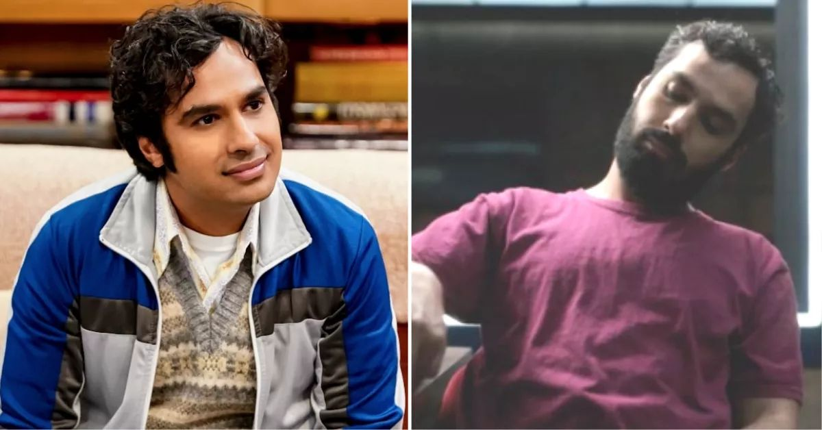 'the big bang theory' star kunal nayyar looks 'totally different' as a killer in new netflix role