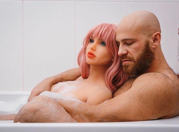 kazakhstan bodybuilder yuri tolochko divorces his sex doll margo, gets new wife doll with chicken body