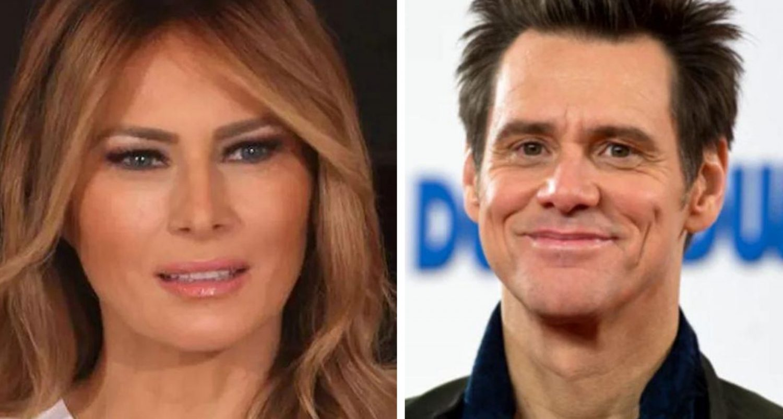 Jim Carrey's Savage Painting Of Melania Trump Has Divided The Internet