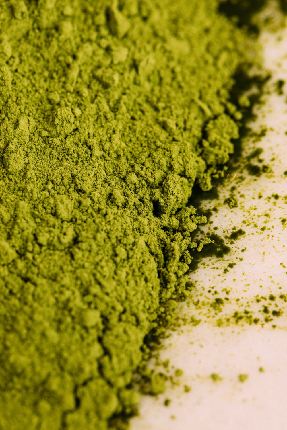breaking down the contents of matcha