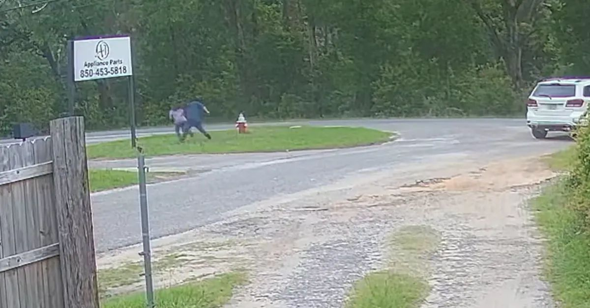 11-year-old girl fights off would-be abductor in tense video
