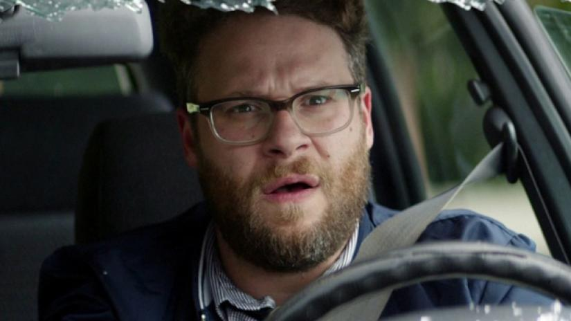 seth rogen looks impossible to recognize after shaving beard
