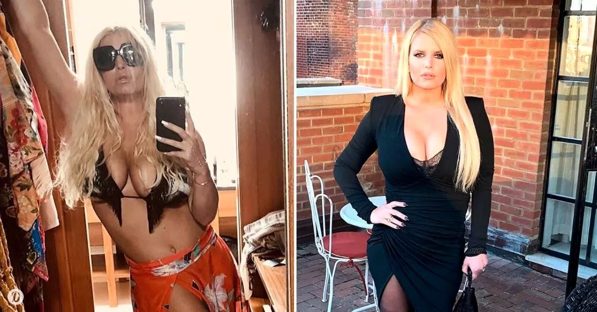 """jessica simpson admits to having 2 tummy tucks: """"i couldn't bear to look at myself"""""""