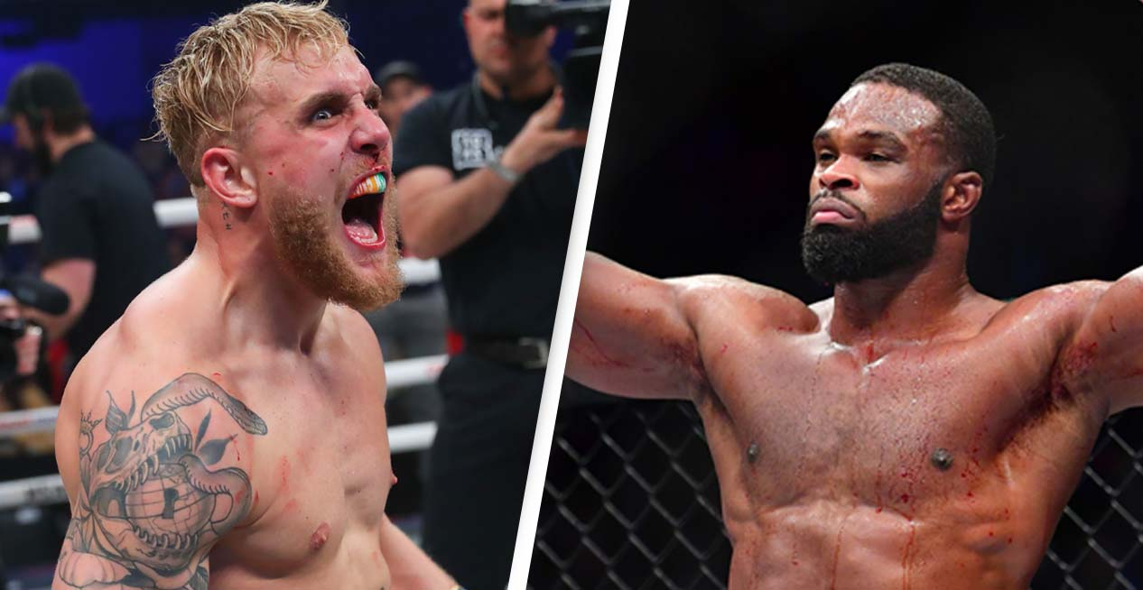 jake paul officially set to fight former ufc champion tyron woodley