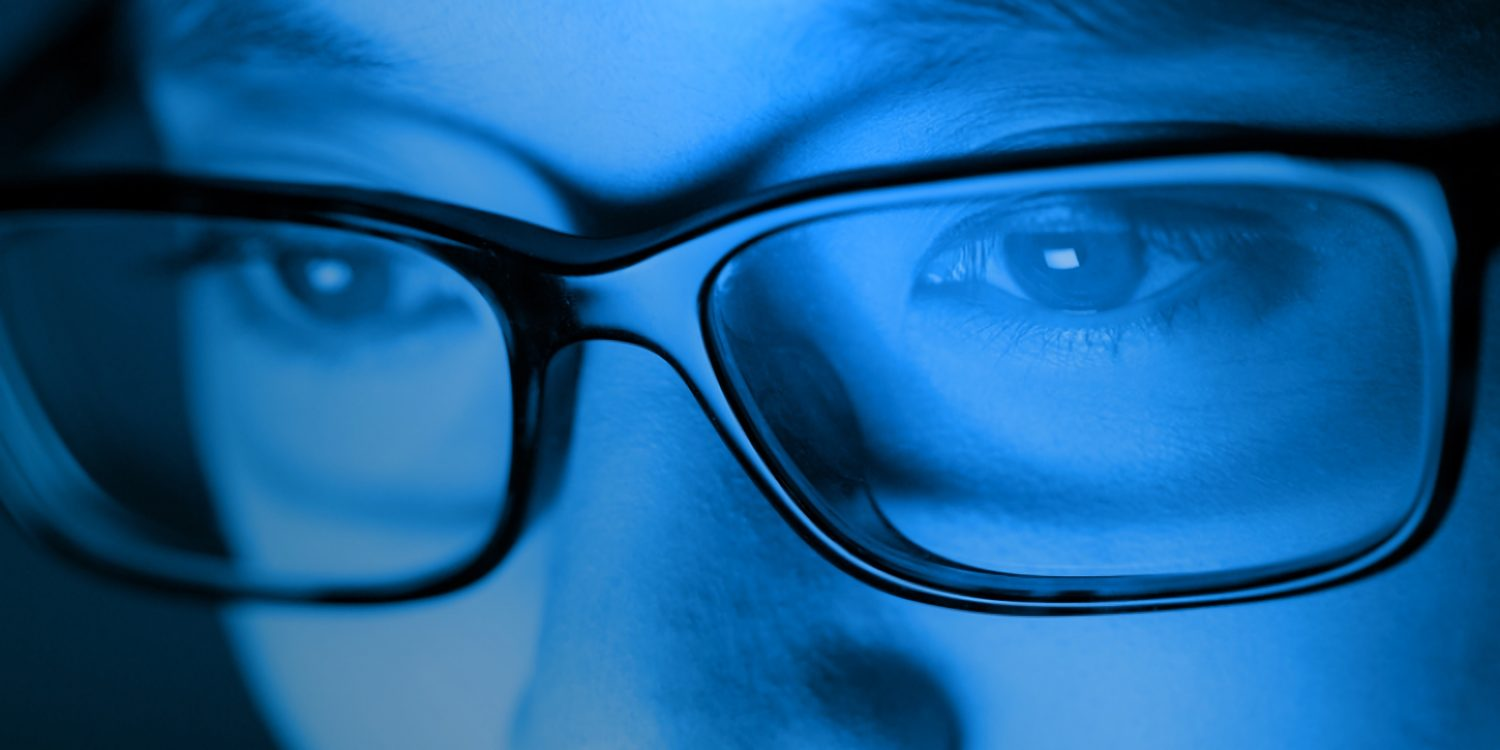 give your eyes the ultimate relief- blue light transition glasses