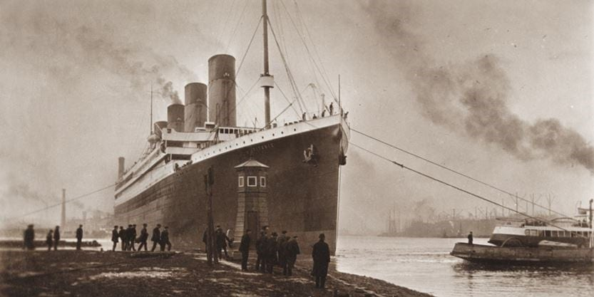 33 rare titanic sinking photos taken just before and after it happened