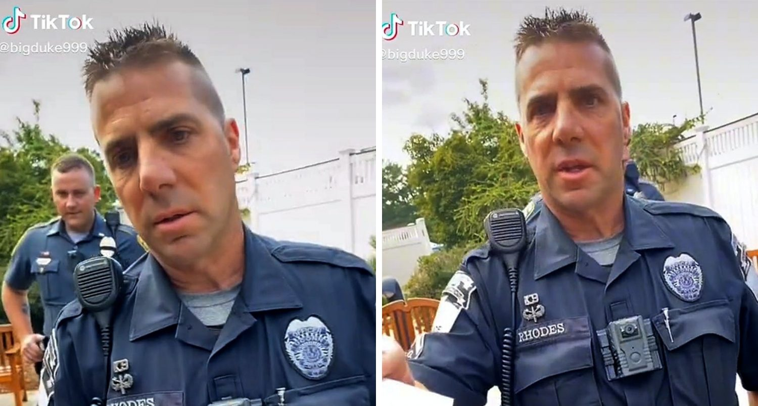 """""""calling You A P*ssy Is A Public Disturbance?"""": Tiktoker Ticketed For Name-calling Cop In Viral Video"""