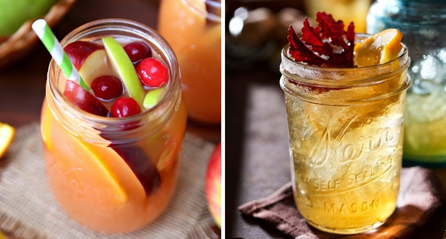 7 Mason Jar Cocktails Perfect For Cozy Fall Nights