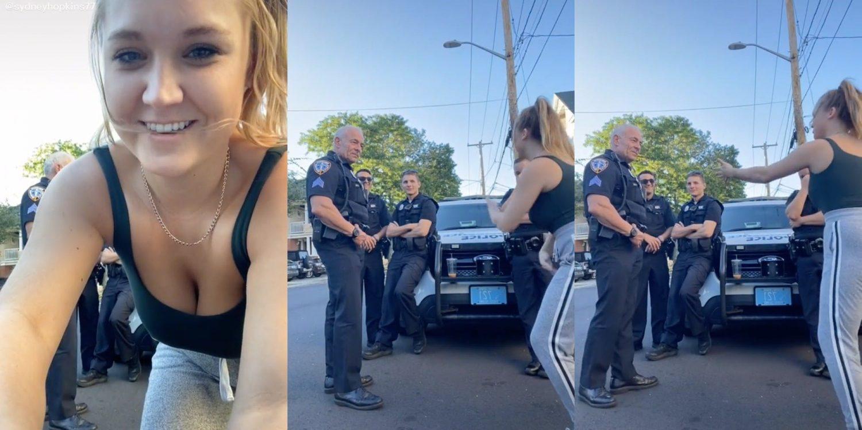 'white Privilege': Tiktoker Performs 'rick & Morty' Dance For Cops