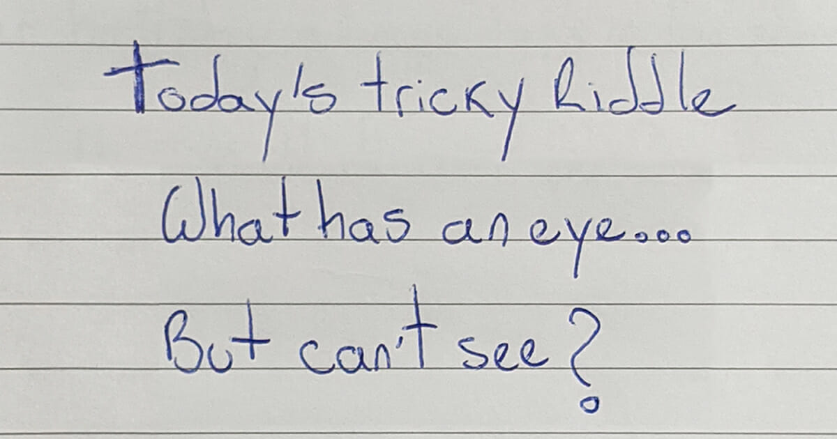 Today's Tricky Riddle - That Only A Few People Can Solve