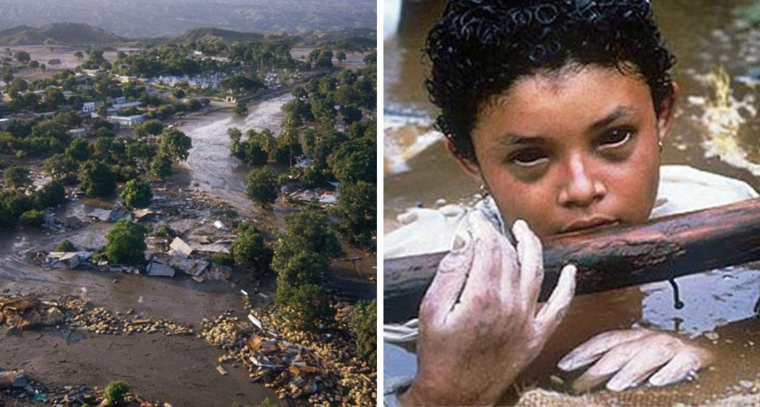 Omayra Sánchez: Excruciating Story And Photos Of A Girl Who Was Trapped In Mudflow