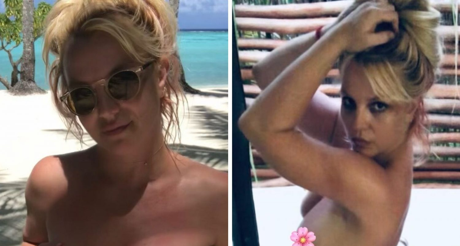 Britney Spears Shares Nude Instagram Posts On First Day After Jamie Is Suspended From Conservatorship