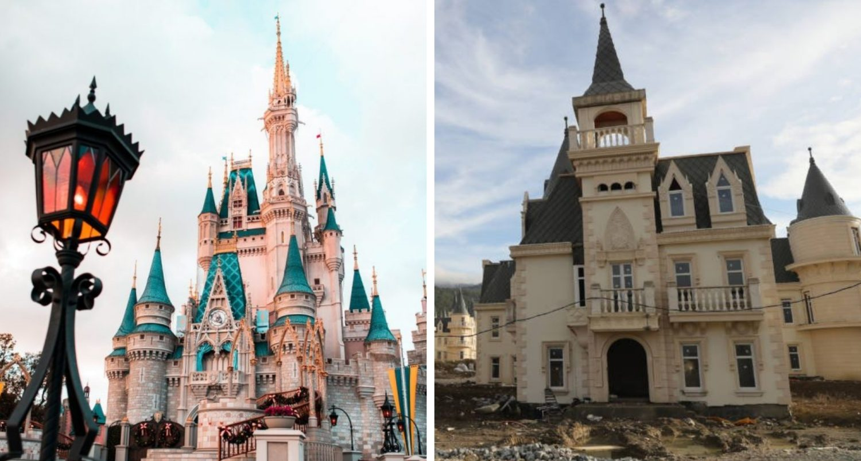 Ghost Town Full Of Disney Castles: The Story Of Burj Al Babas
