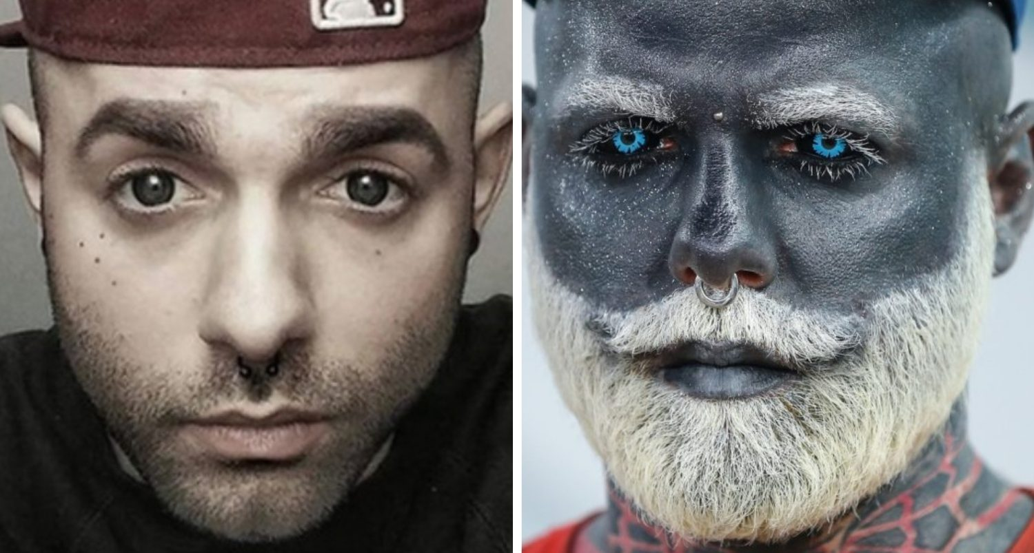 Adam Curlykale: The Man Who Covered Everything With Tattoos