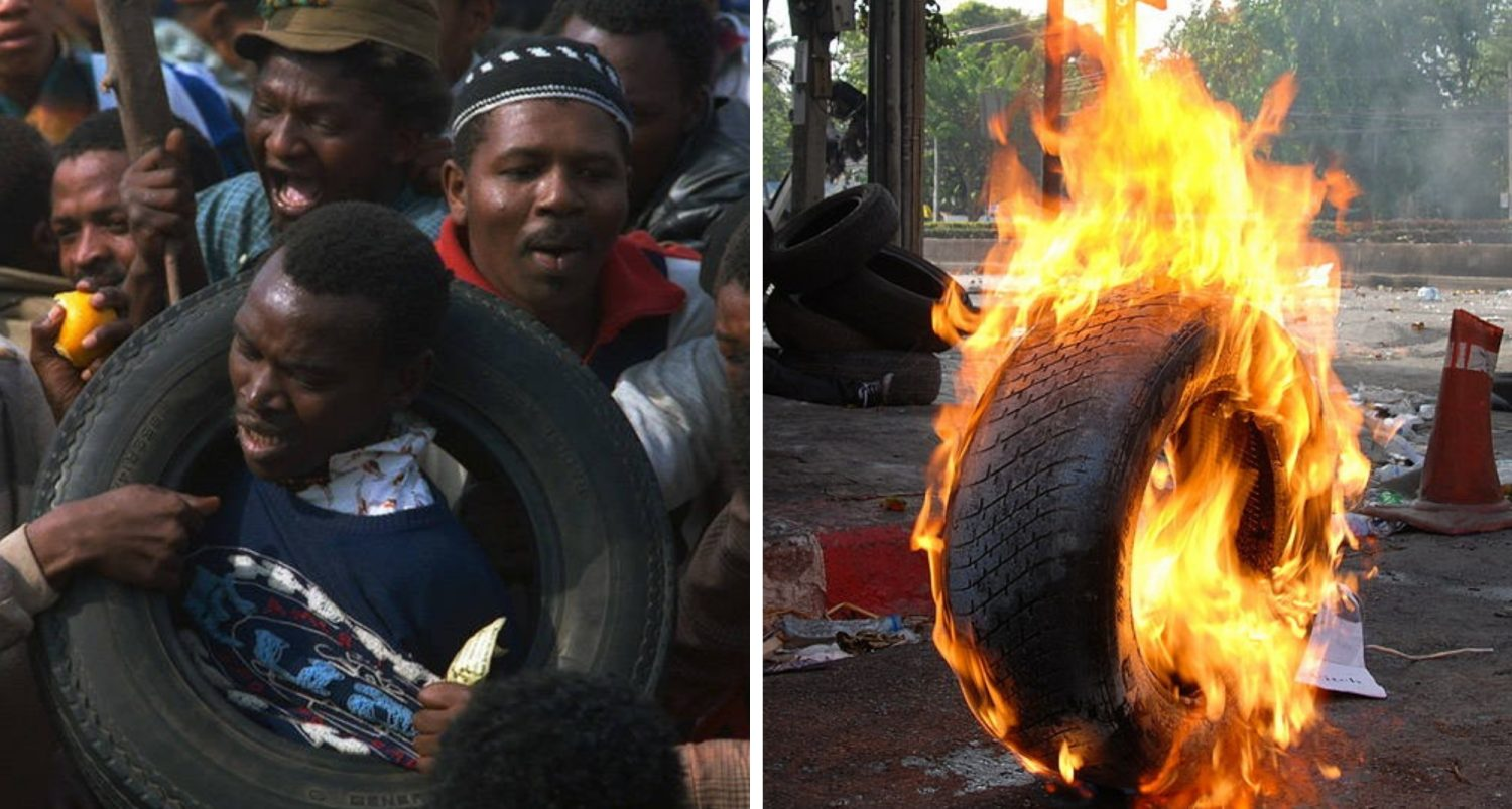 Jungle Justice: Necklacing, The Deadly Method Of Execution In South Africa