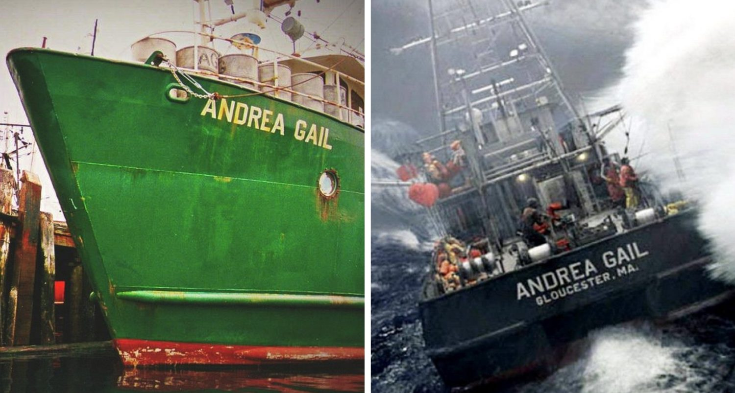 The Andrea Gail And The Perfect Halloween Storm